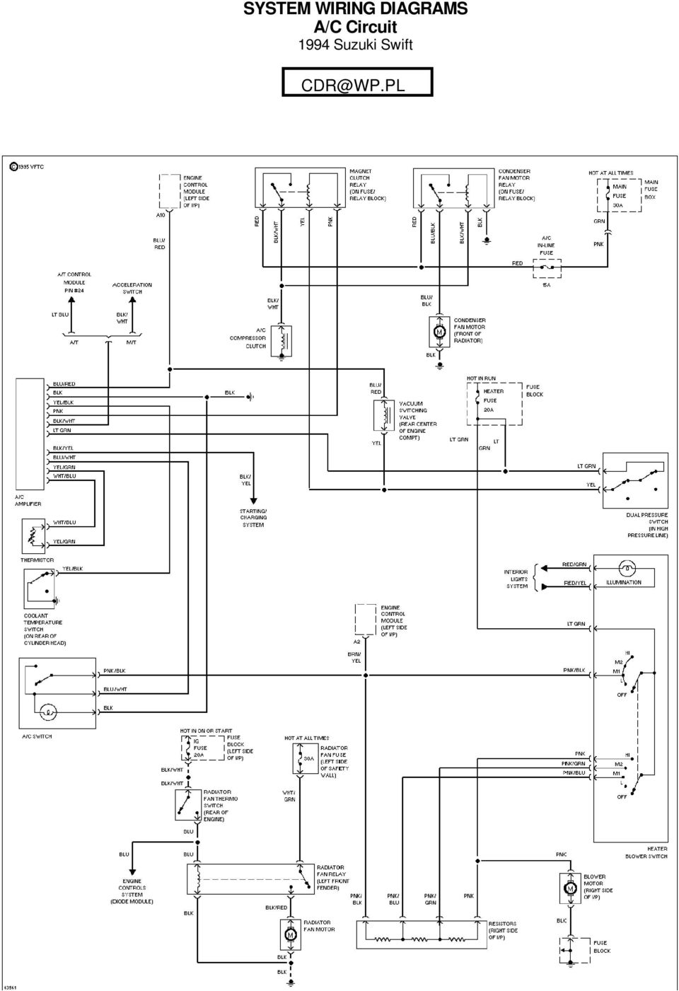 medium resolution of 1989 suzuki swift gti air conditioner wiring diagram and wiring rh 4 skriptoase de
