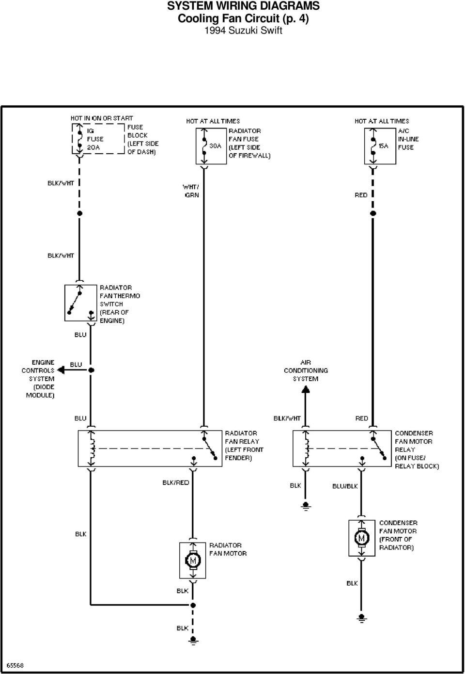 Wiring Diagram Of Hero Honda Splendor