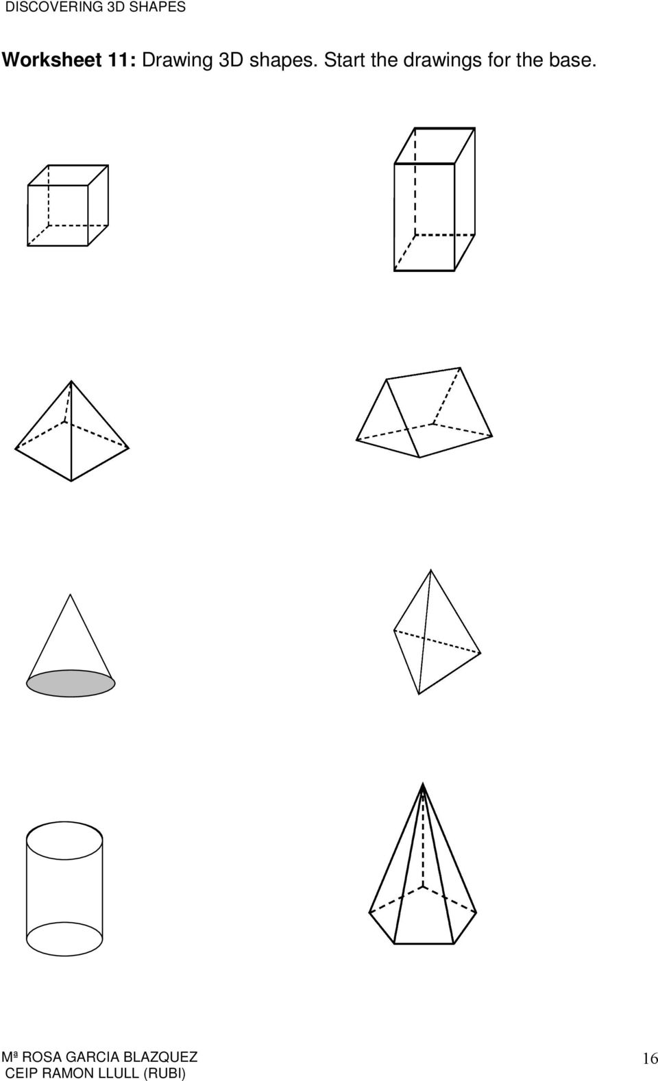 12 Printable Shapes Cutting Worksheets t