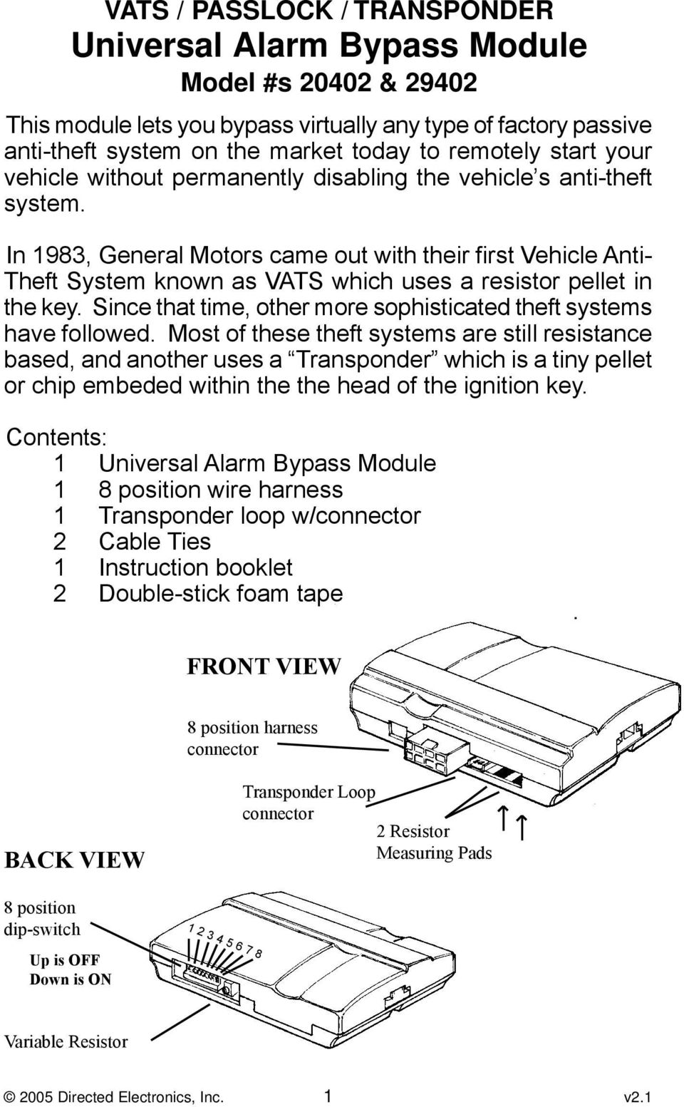 hight resolution of in 1983 general motors came out with their first vehicle anti theft system known