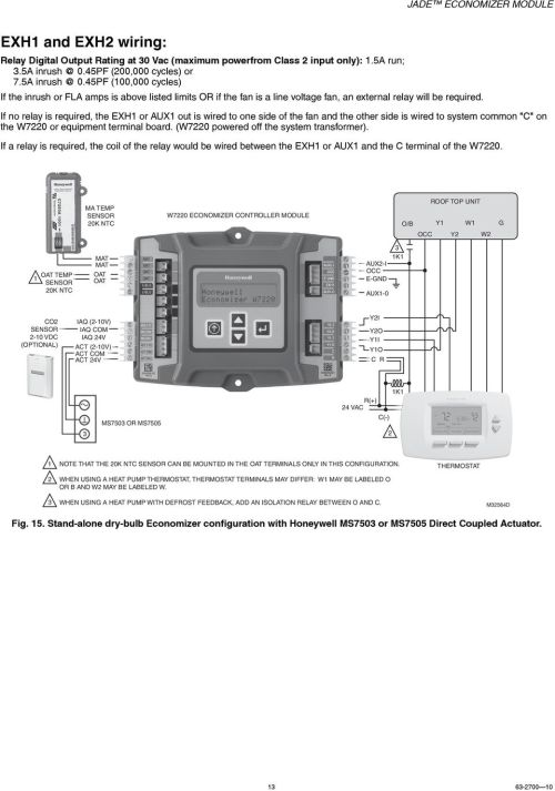 small resolution of if no relay is required the exh or aux out is wired to one side