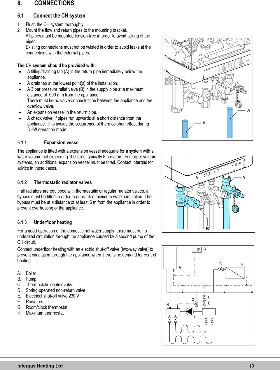 Underfloor Heating Wiring Diagram Central Boiler Images