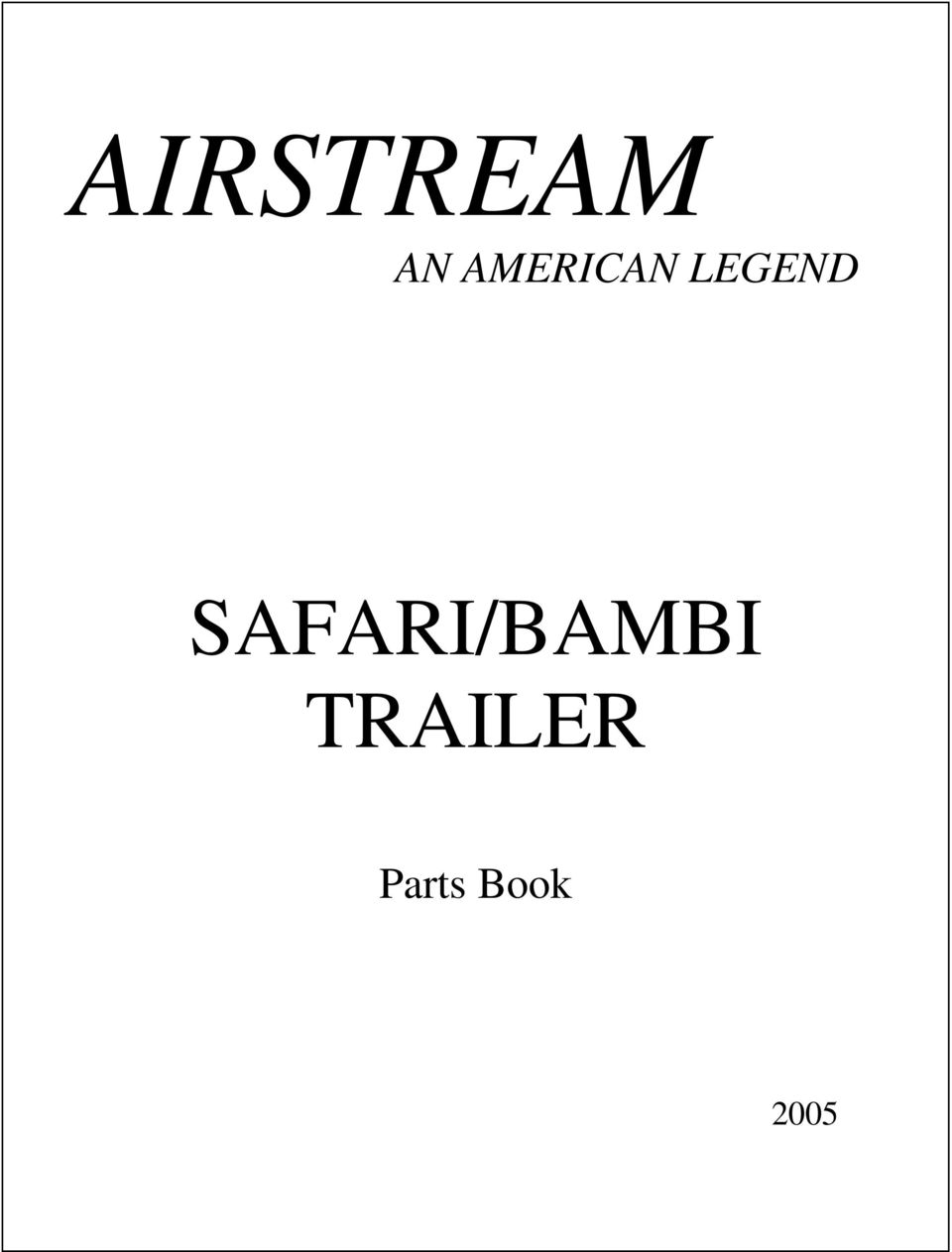 medium resolution of safari bambi