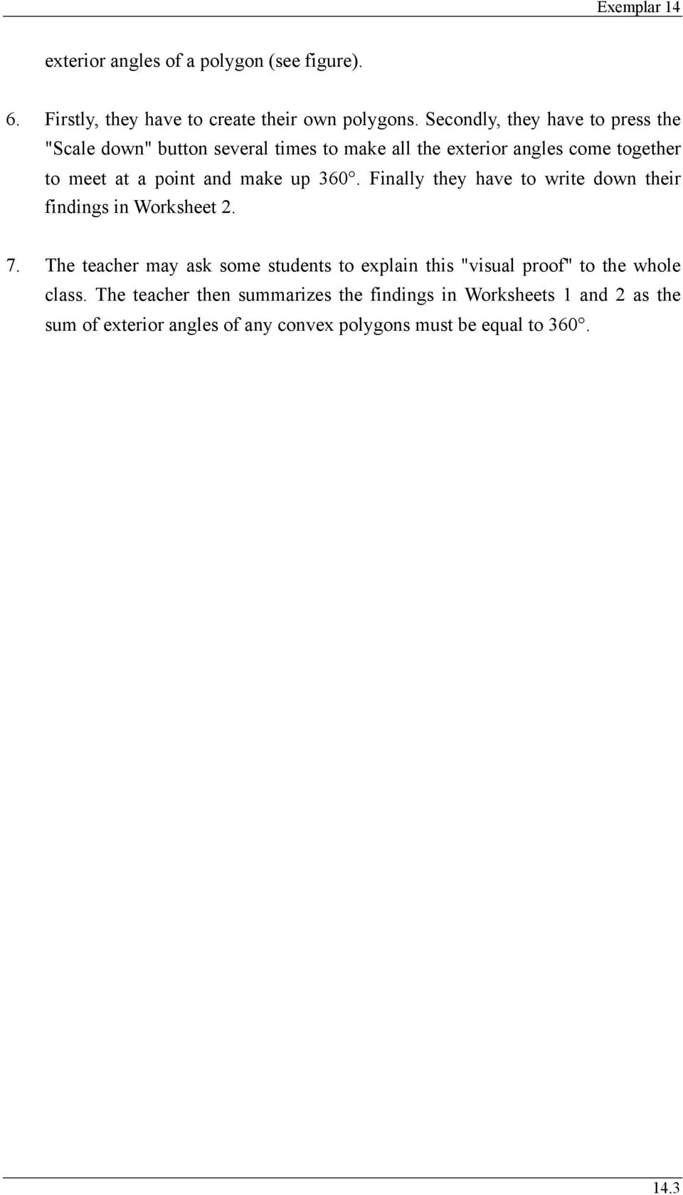 hight resolution of Exterior Angles of Polygons - PDF Free Download