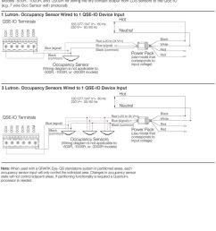 2016 1 lutronr occupancy sensor wired to 1 qse io device input qse io [ 960 x 1305 Pixel ]