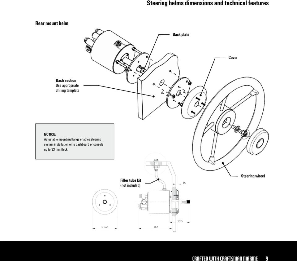 Boat Hydraulic Steering Helm Diagram, Boat, Free Engine