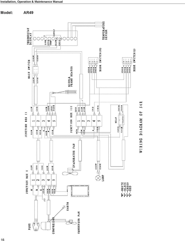 [WRG-8370] Waeco Refrigerator Wiring Diagram