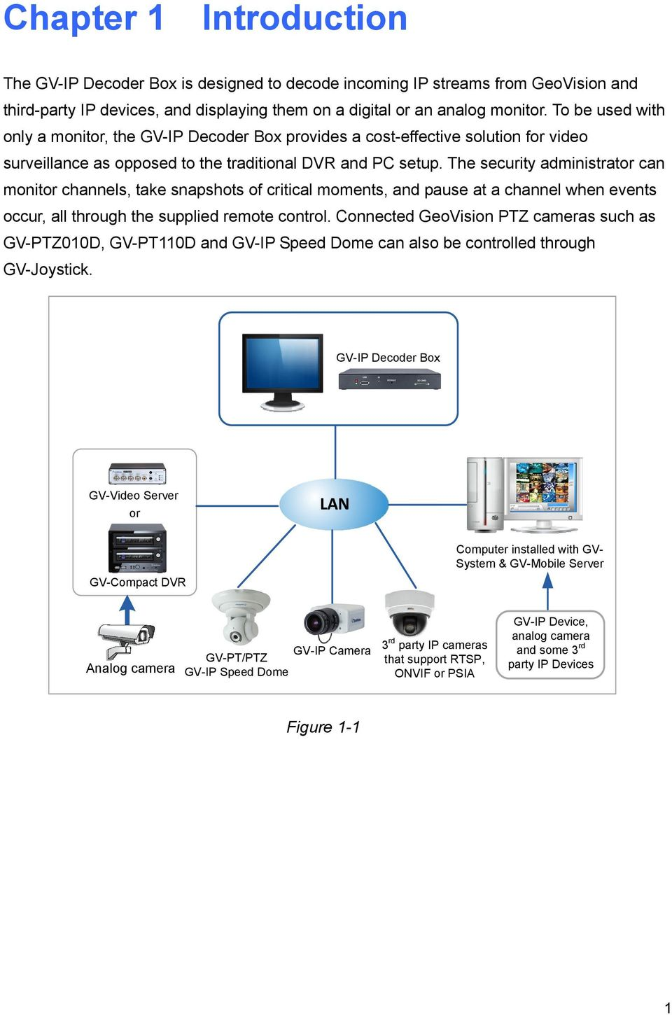 hight resolution of the security administrator can monitor channels take snapshots of critical moments and pause at