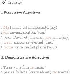 Day 17: Possessive and Demonstrative Adjectives - PDF Free Download [ 1441 x 960 Pixel ]