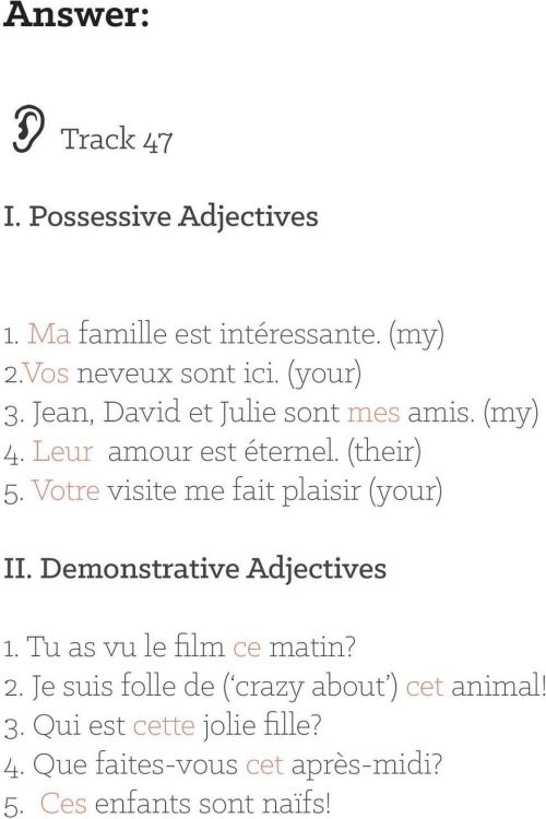 small resolution of Day 17: Possessive and Demonstrative Adjectives - PDF Free Download