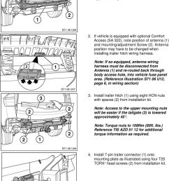 if vehicle is equipped with optional comfort access sa 322 note position of [ 960 x 1431 Pixel ]