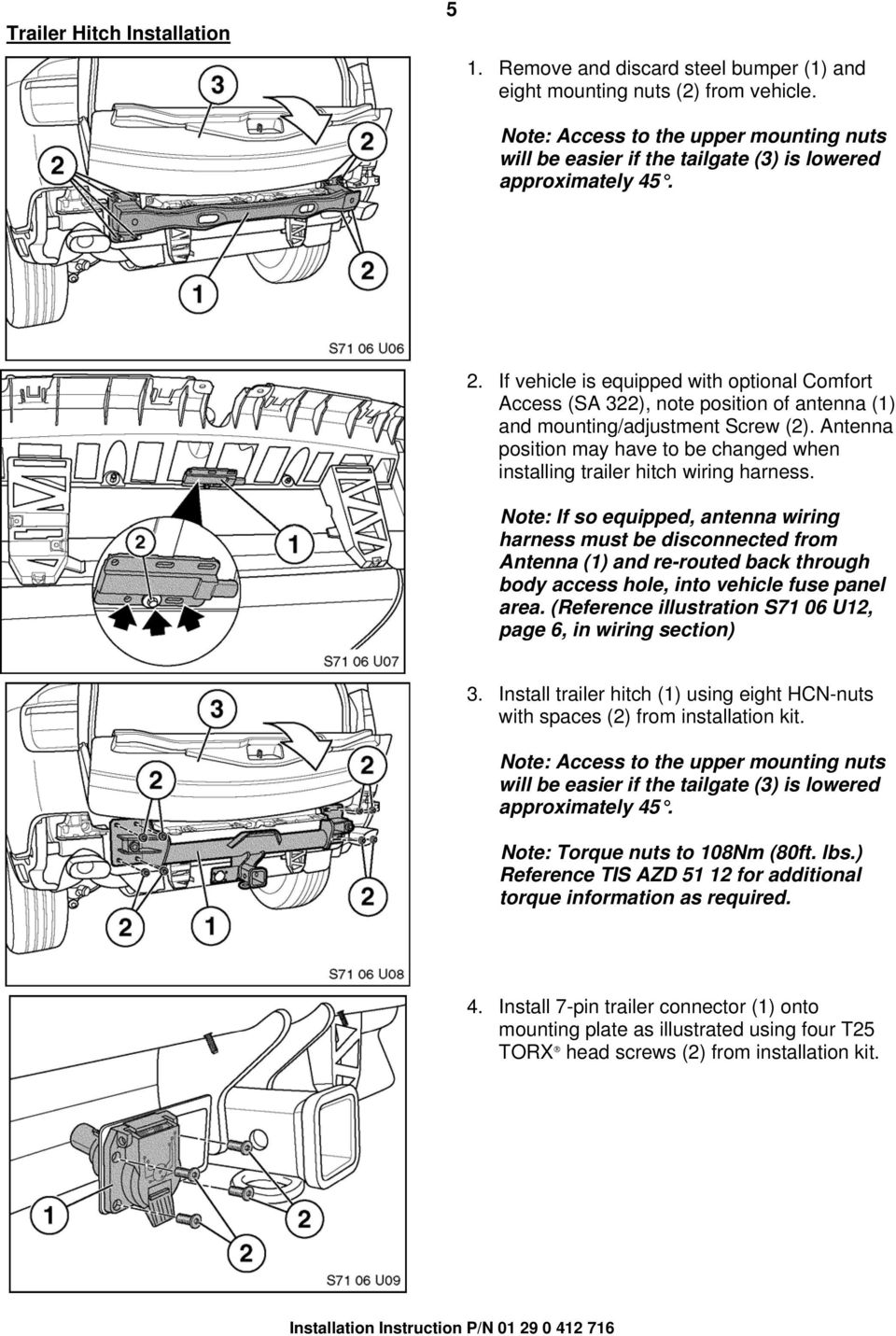 hight resolution of if vehicle is equipped with optional comfort access sa 322 note position of