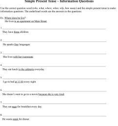 Simple Present Tense. Simple Present Tense in the Negative. Grammar  Practice Worksheets - PDF Free Download [ 1270 x 960 Pixel ]