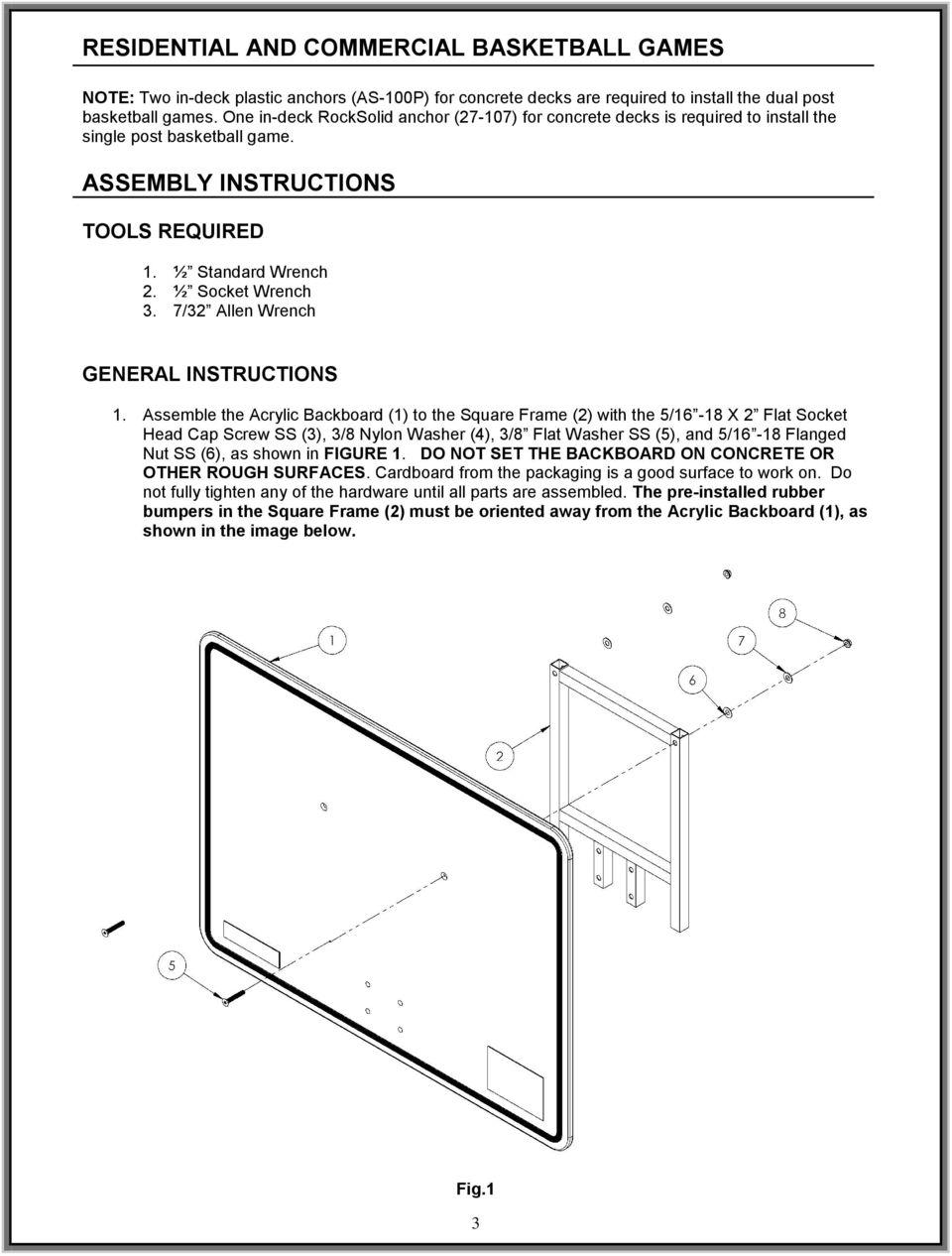 medium resolution of 7 32 allen wrench general instructions 1