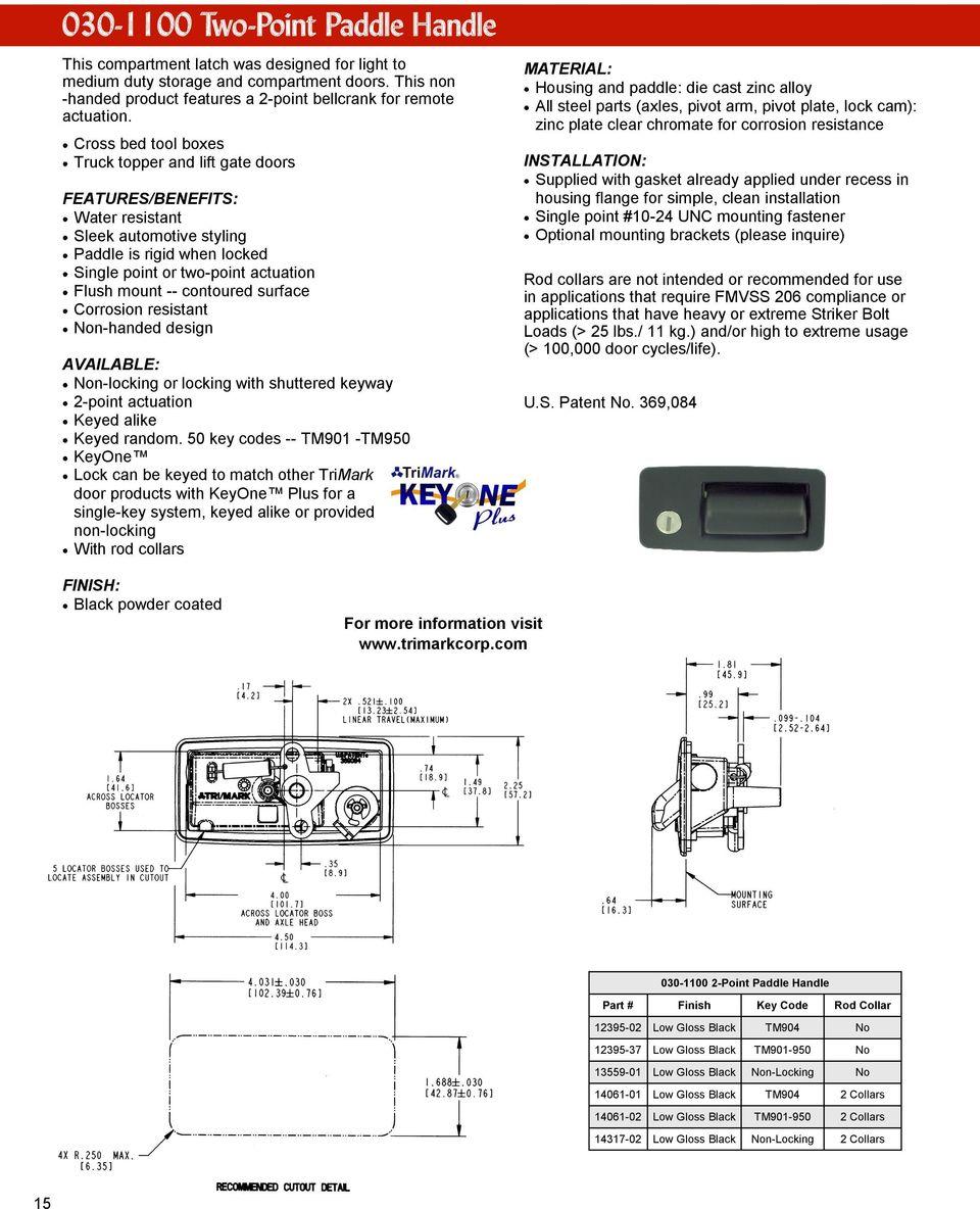 medium resolution of trimark keypad wiring diagram wiring librarycontoured surface corrosion resistant non handed design non locking or locking