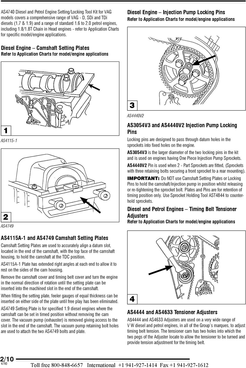 hight resolution of diese engine injection pump locking pins refer to appication charts for mode engine appications diese