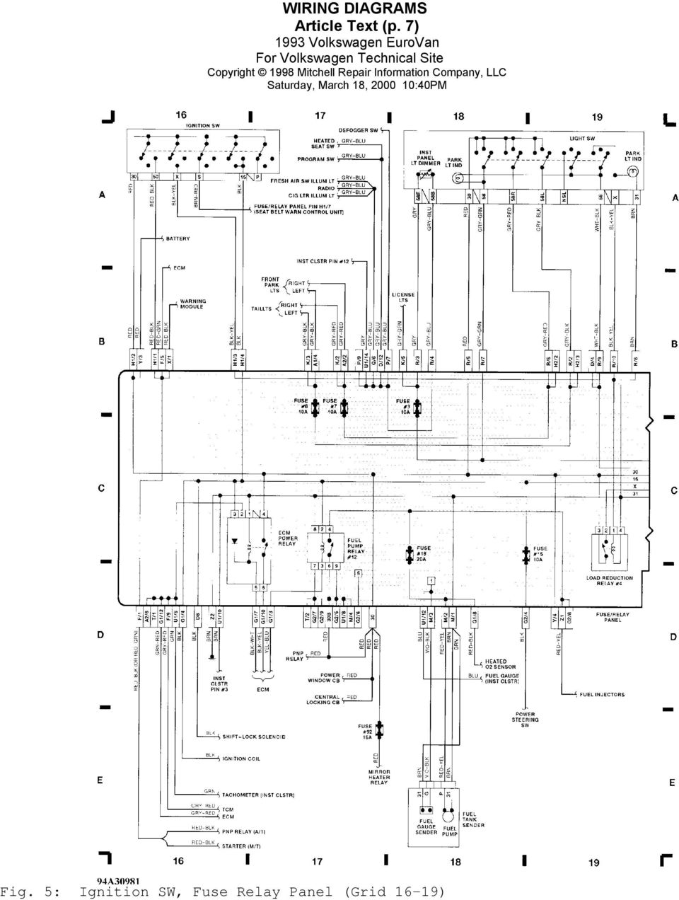 medium resolution of 1999 vw eurovan ac wiring wiring diagram forward 1999 vw eurovan ac wiring