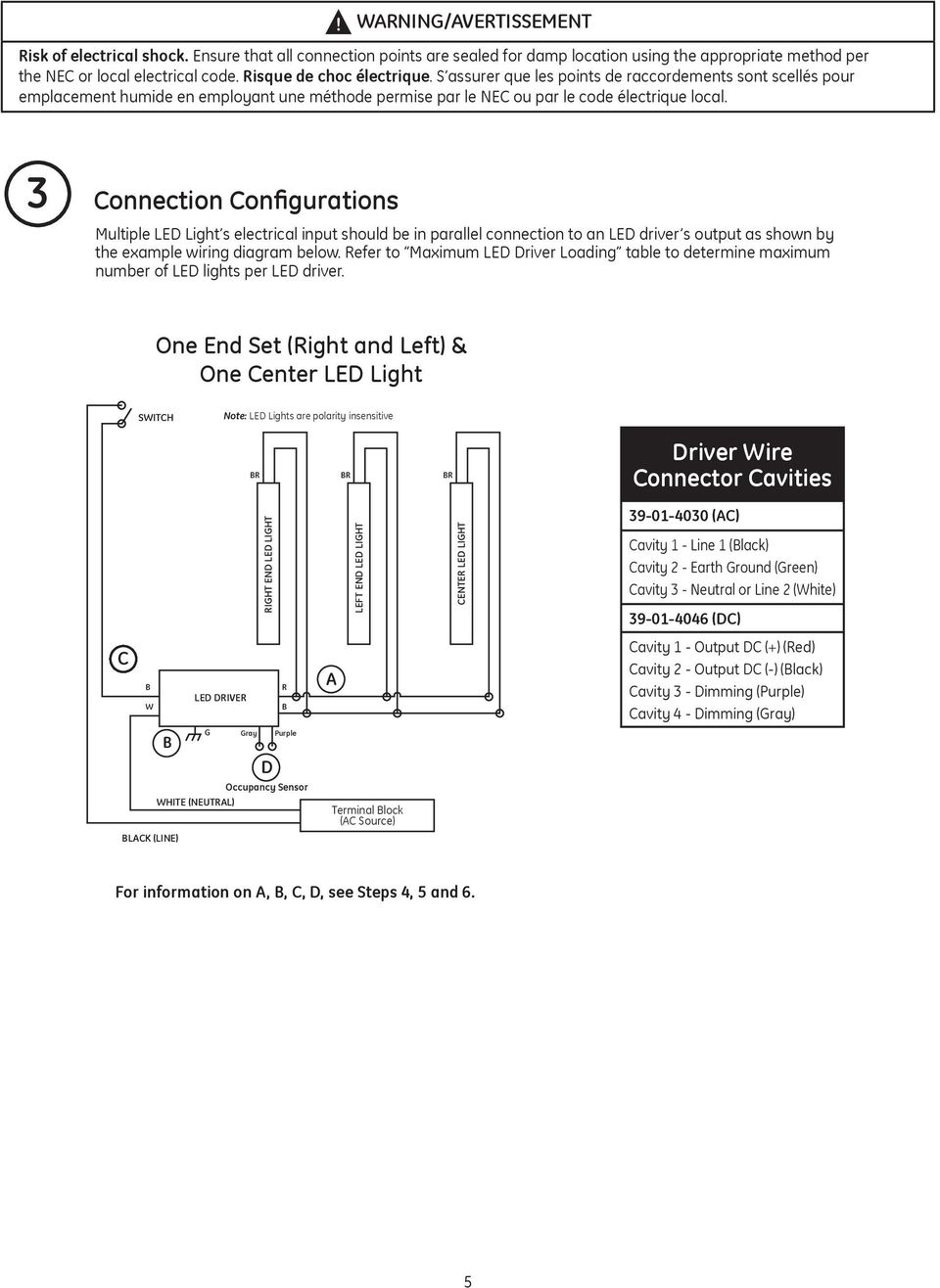 medium resolution of connection configurations multiple led light s electrical input should be in parallel connection to an led