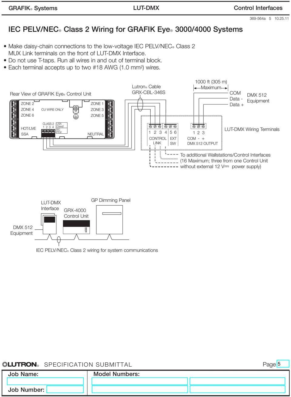 medium resolution of rear view of grafik eyer control unit zone 2 zone 1 zone 4 cu wire only