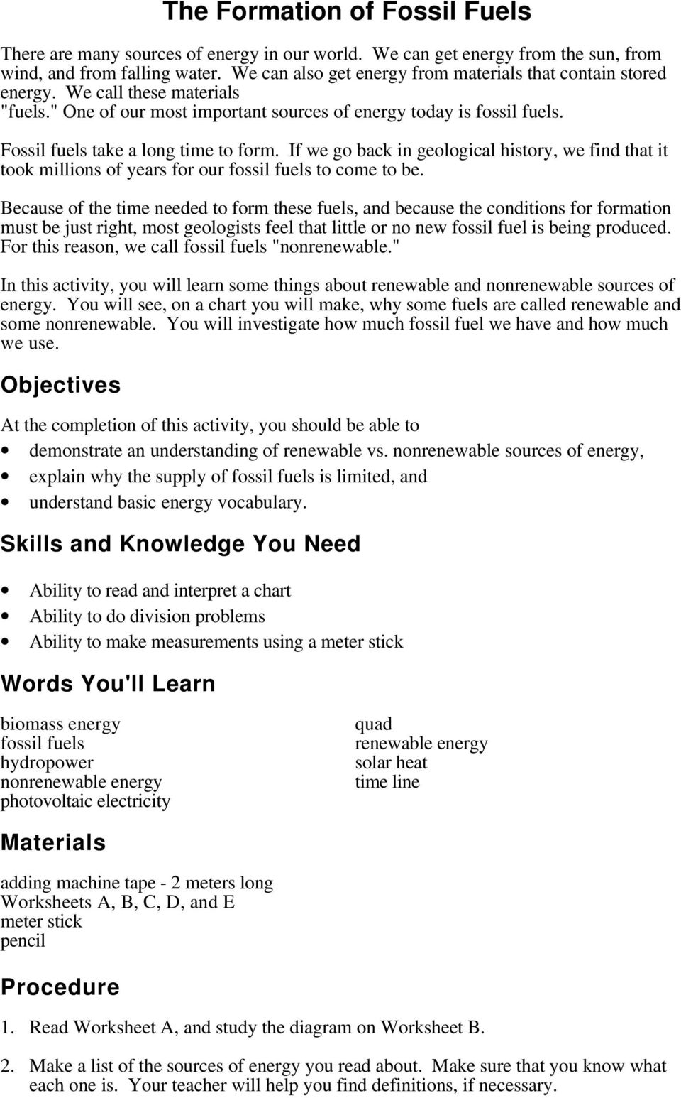 medium resolution of The Formation of Fossil Fuels - PDF Free Download