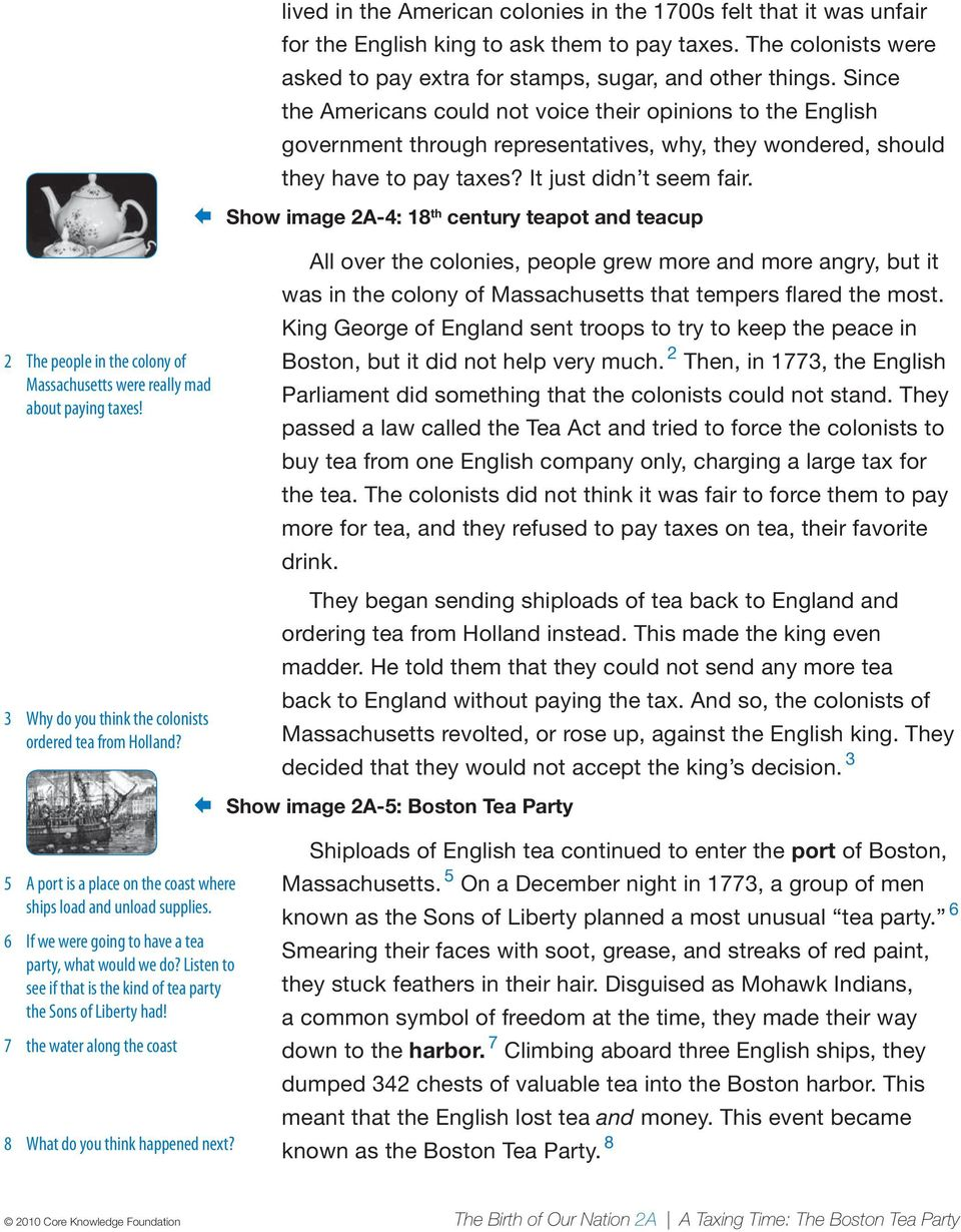 hight resolution of A Taxing Time: The Boston Tea Party - PDF Free Download