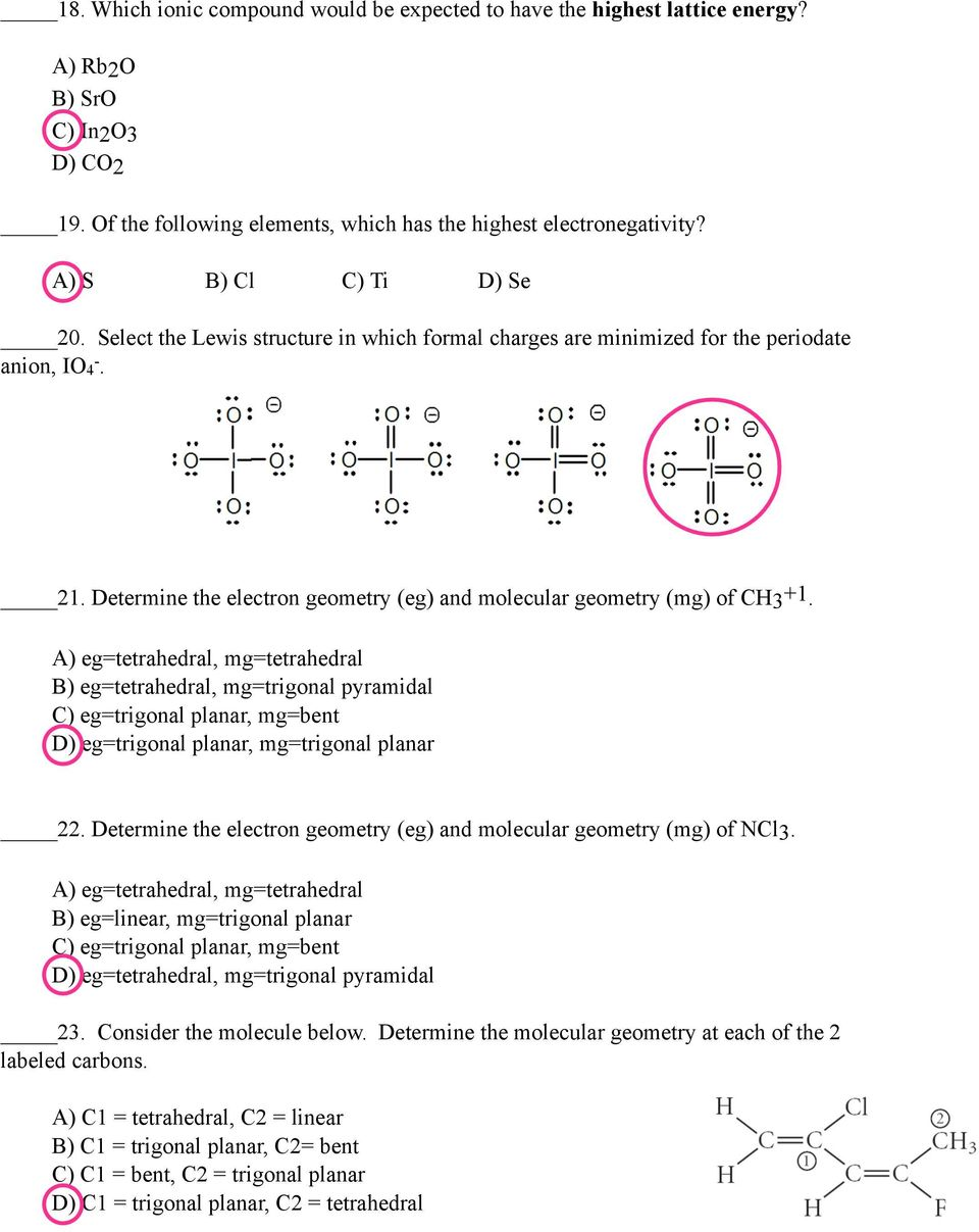 hight resolution of determine the electron geometry eg and molecular geometry mg of ch3