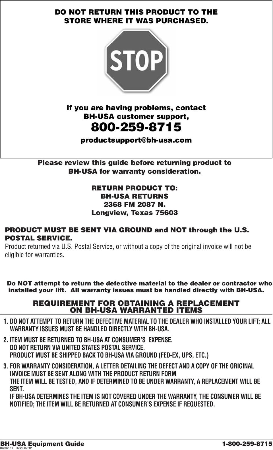 medium resolution of longview texas 75603 product must be sent via ground and not through the u s postal