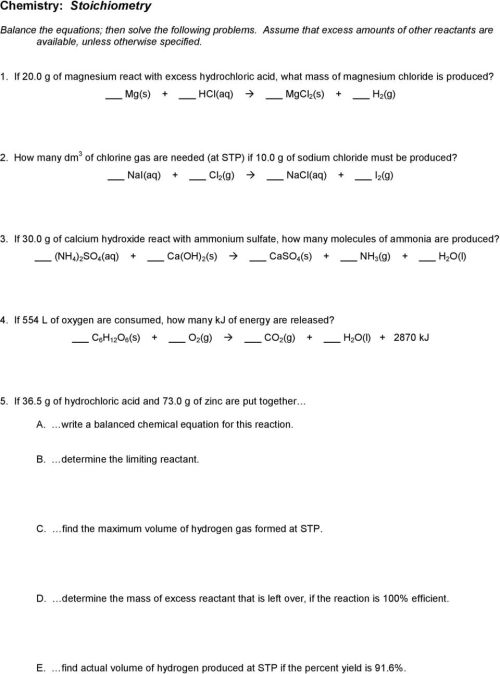 small resolution of Chemistry: Chemical Equations - PDF Free Download