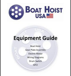 equipment guide boat hoist gear plate assembly electric motor wiring diagrams drum switch gfci boat hoist [ 960 x 1229 Pixel ]