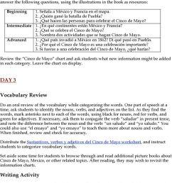 CELEBRA EL CINCO DE MAYO LESSON PLAN FOR GRADES PDF Free Download [ 1340 x 960 Pixel ]