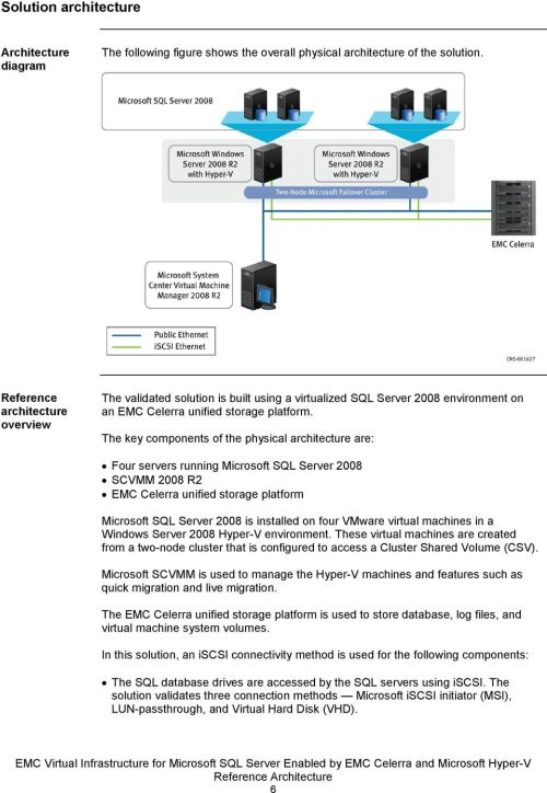 small resolution of the key components of the physical architecture are four servers running microsoft sql server 2008