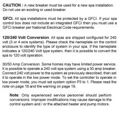 if your spa control box does not include an integrated gfci then you must use a [ 960 x 1551 Pixel ]