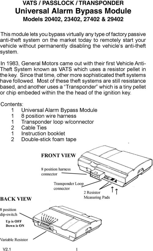 small resolution of in 1983 general motors came out with their first vehicle anti theft system known