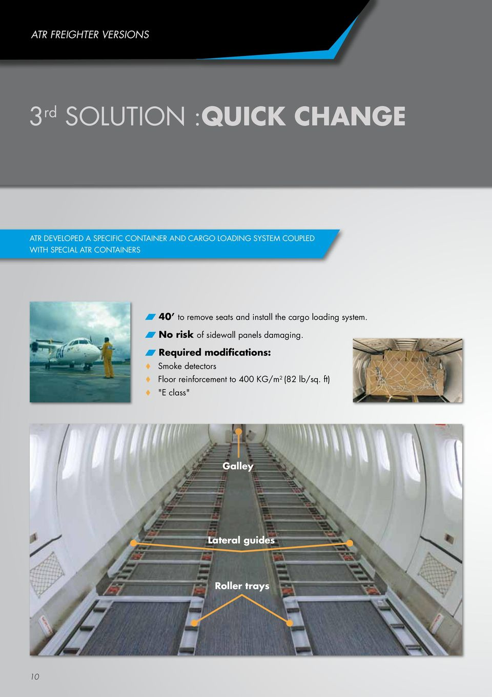 hight resolution of cargo loading system no risk of sidewall panels damaging