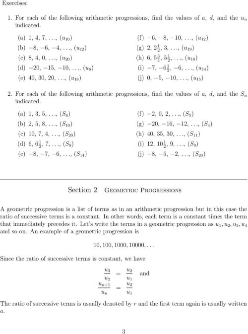 small resolution of Arithmetic Progression - PDF Free Download
