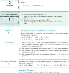 Section 6-3 Arithmetic and Geometric Sequences - PDF Free Download [ 1283 x 960 Pixel ]