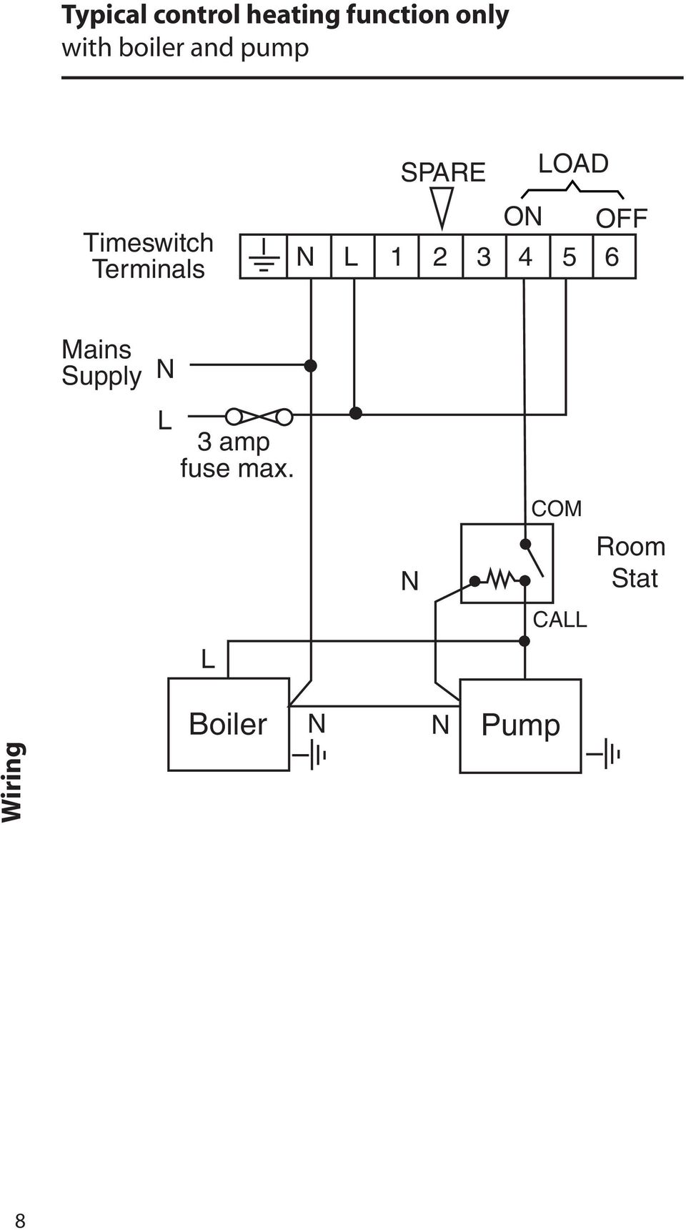 hight resolution of on off n l 1 2 3 4 5 6 mains supply n l 3 amp