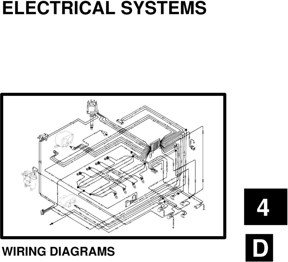 [WRG-9914] Mercruiser Electrical System Wiring Diagrams