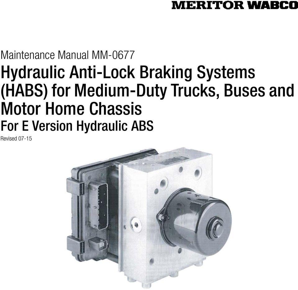 medium resolution of meritor wabco hydraulic abs manual