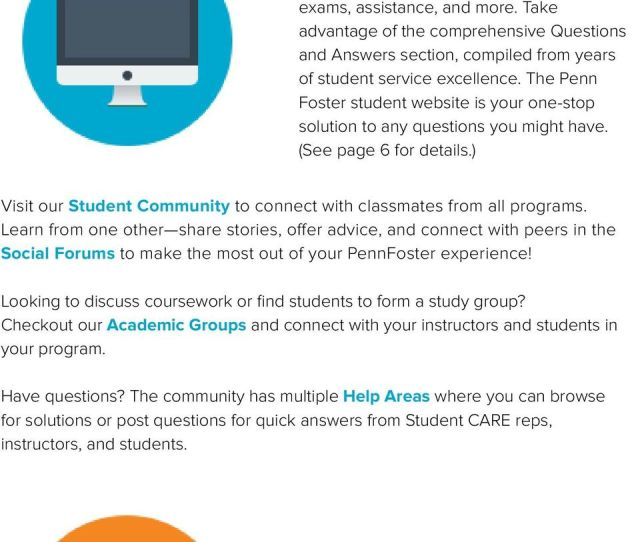 Take Advantage Of The Comprehensive Questions And Answers Section Compiled From Years Of Student Service 7 Penn Foster