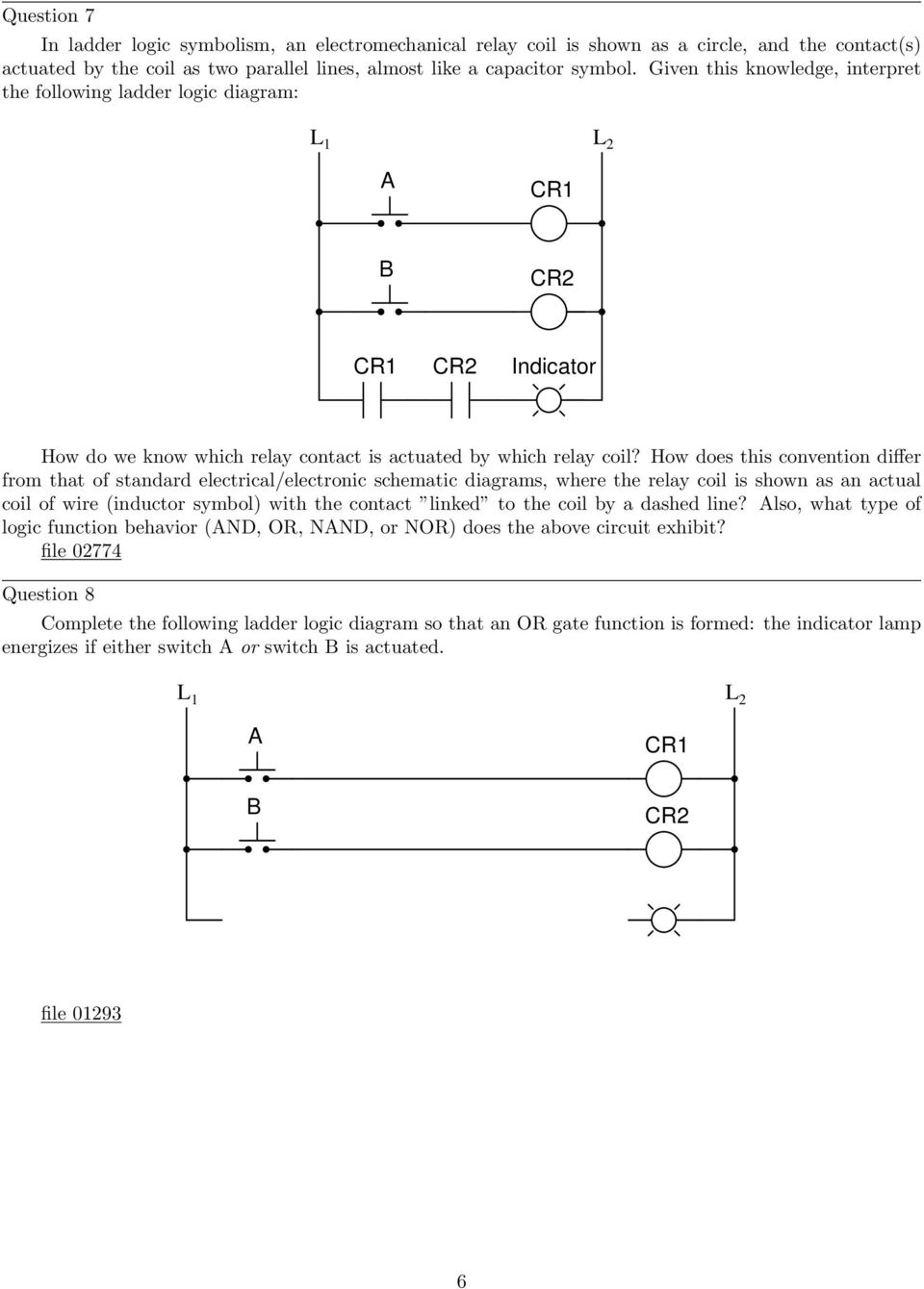 medium resolution of how does this convention differ from that of standard electrical electronic schematic diagrams where