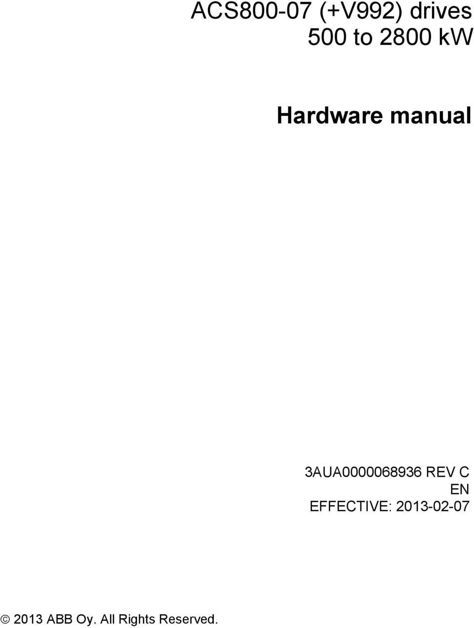 medium resolution of abb acs800 02 amp acs800 u2 drives hardware manual abb library for general purpose drives abb acs355 user manual pdf download hello pair vfds hi