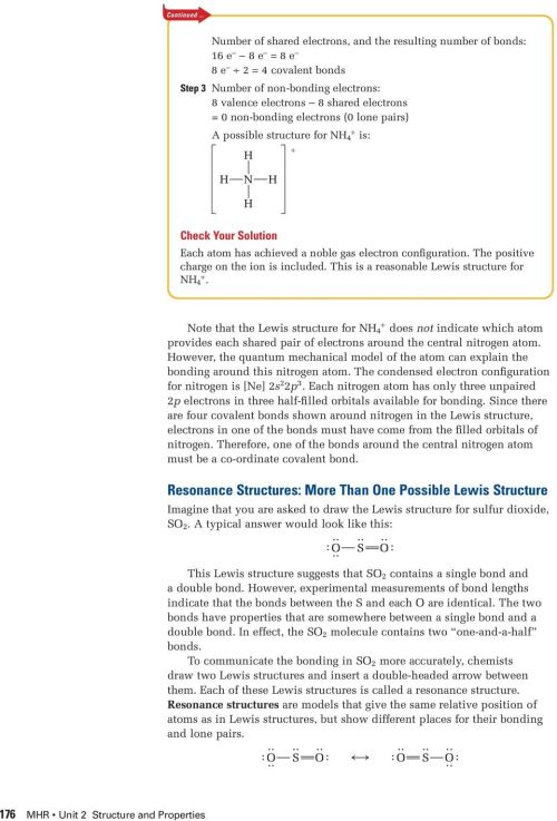 small resolution of electrons 0 lone pairs possible structure for n 4 is n