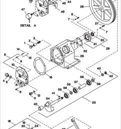 part description qty spares no no plug pipe hex head 1 2 coupling pipe 1 2 nipple pipe plug oil fill o ring oil fill plug capscrew  [ 960 x 1299 Pixel ]