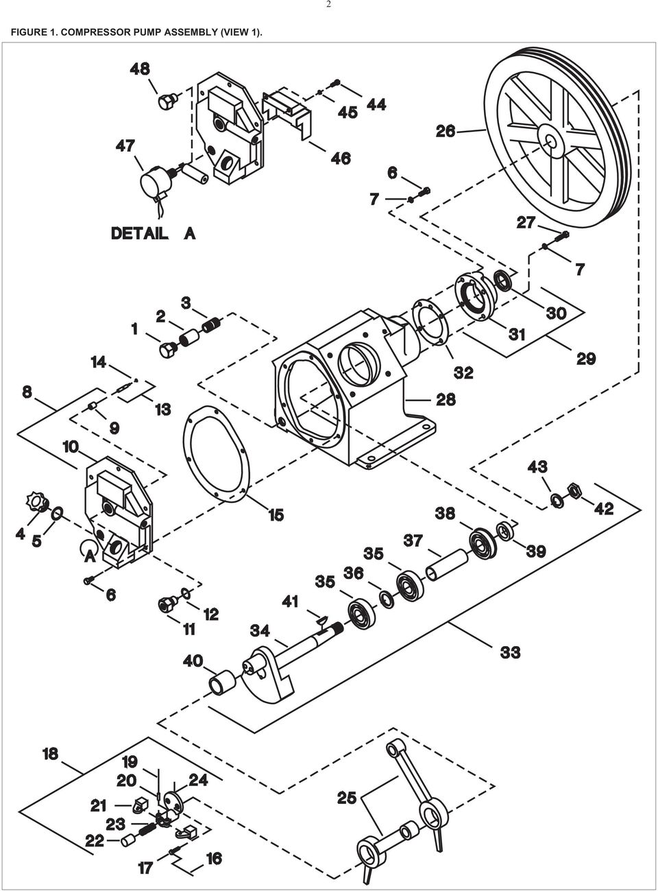 hight resolution of part description qty spares no no plug pipe hex head 1 2 coupling pipe 1 2 nipple pipe plug oil fill o ring oil fill plug capscrew