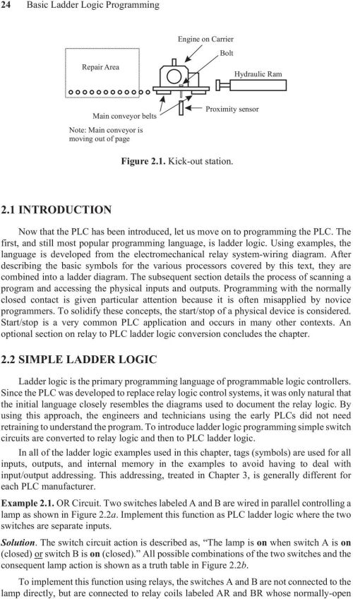 small resolution of using examples the language is developed from the electromechanical relay system wiring diagram