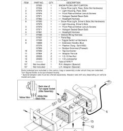 parts installation instructions meyer snow plow lights pdf snow plow light wiring harness w flasher headlight switch for lights [ 960 x 1405 Pixel ]