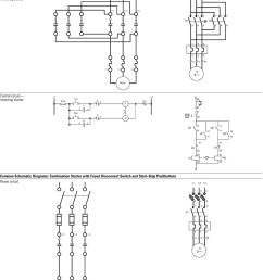 reversing starter control circuit reversing starter common schematic diagrams  [ 960 x 1337 Pixel ]