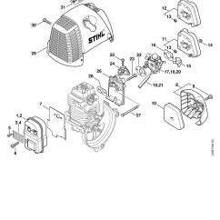 Stihl Fs 56 Parts Diagram Bmw E60 Radio Wiring Trimmer Manual Books 13 17 1 20 15 14 19 21 9 7 10 5