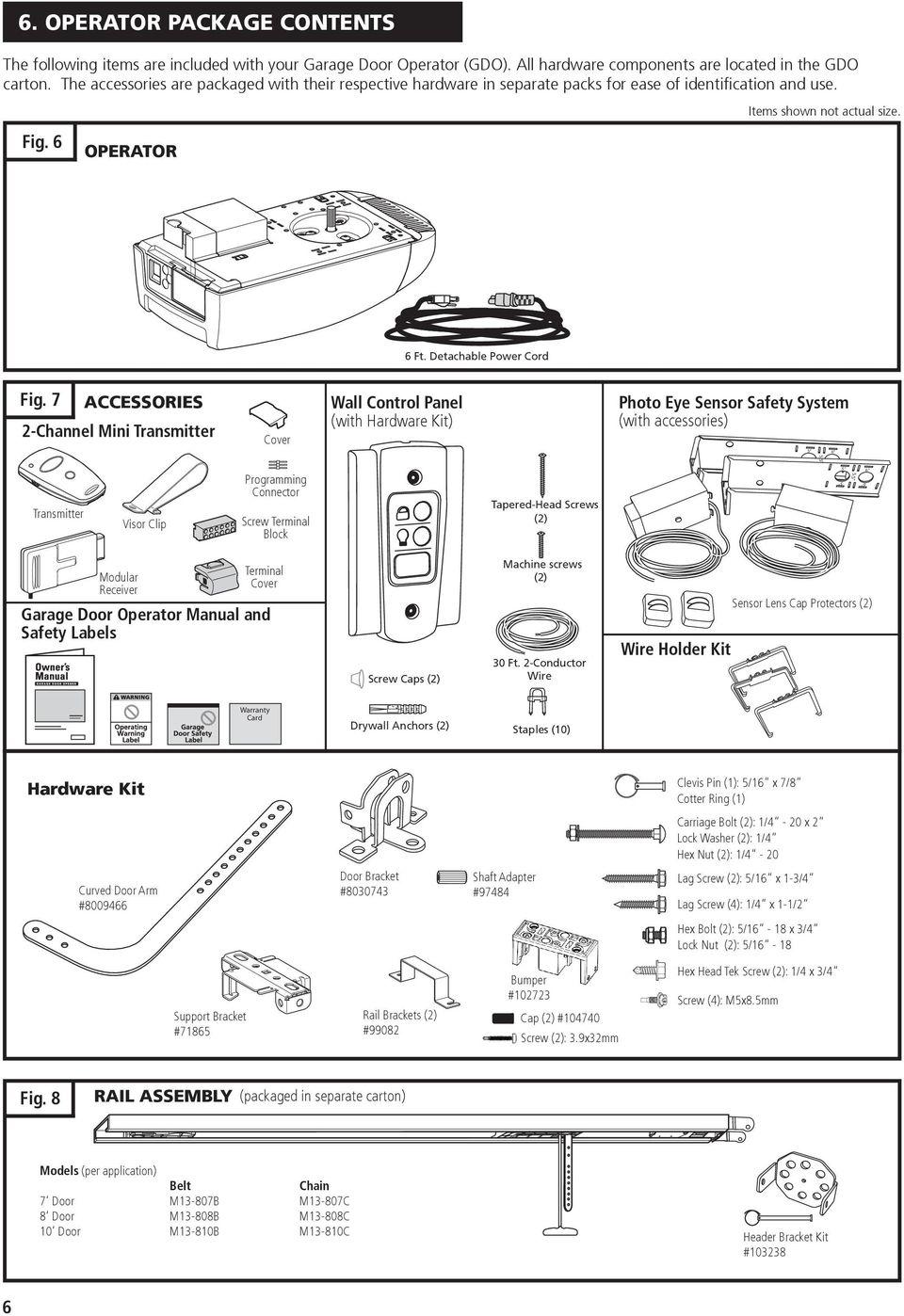 medium resolution of m55 residential garage door operator pdf